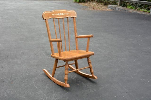 Antique Childs Rocker Best 2000 Antique Decor Ideas