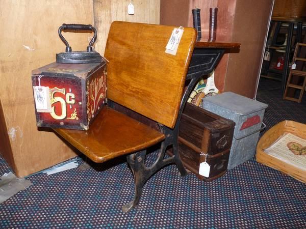 Vintage Kindergarten School Desk - $28