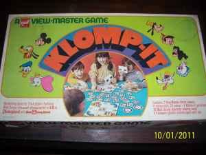 Vintage Klomp-it View-master Disney game - $20 (Ashby)