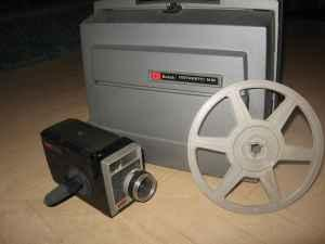 Vintage Kodak 8 Film projector and camera - $50