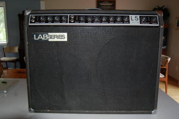 vintage lab series l5 100watt combo amp for sale in bend oregon classified. Black Bedroom Furniture Sets. Home Design Ideas