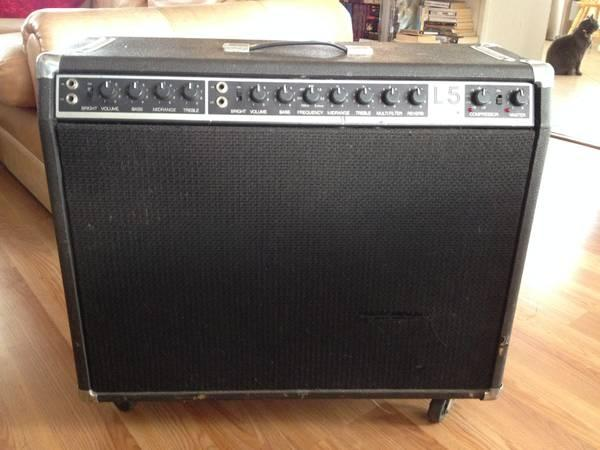vintage lab series l5 2x12 amplifier for sale in torrance california classified. Black Bedroom Furniture Sets. Home Design Ideas