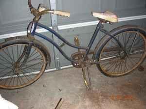 Vintage Ladies Western Flyer Bicycle Jefferson For