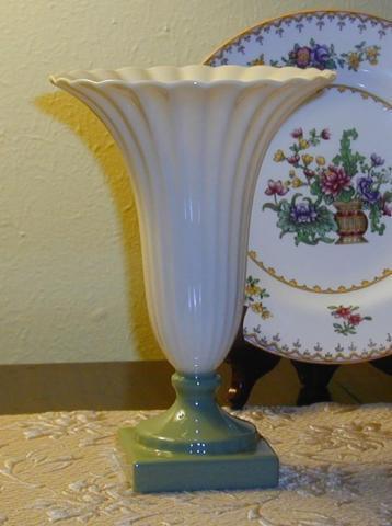 Vintage Lenox Trumpet Vase Gold Stamp For Sale In Columbus Ohio