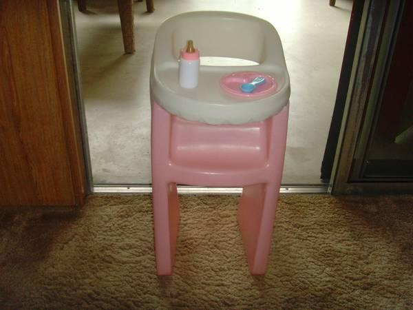 Vintage Little Tikes Doll High Chair For Sale In Littleton Maine