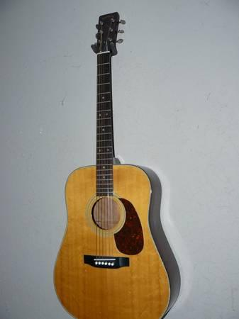 trade vintage martin sigma solid top guitar for drumset for sale in bunnell florida classified. Black Bedroom Furniture Sets. Home Design Ideas