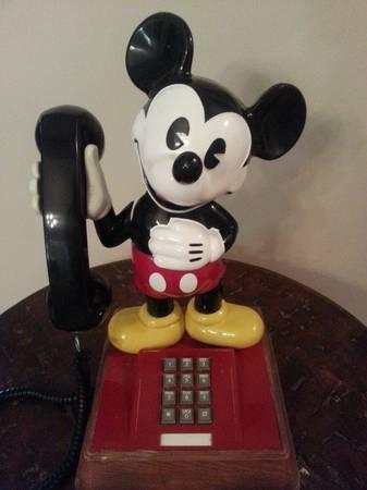 Vintage Mickey Mouse Phone - $50