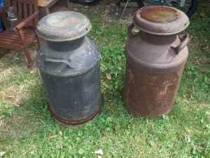 Used Tires Flint Mi >> Vintage Milk Cans - (Mount Morris) for Sale in Flint, Michigan Classified | AmericanListed.com