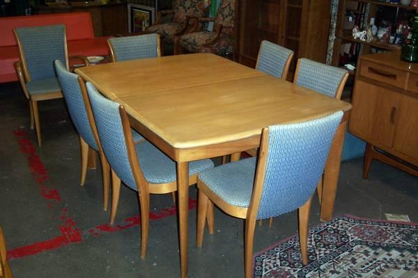 Vintage Modern Heywood Wakefield DINING TABLE $299 And