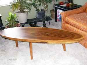 Lovely Vintage Monkey Pod Wood Coffee Table   $400 (Stockton)