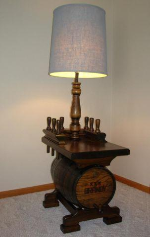 vintage nautical keg barrel floor lamp for sale in cresco iowa. Black Bedroom Furniture Sets. Home Design Ideas