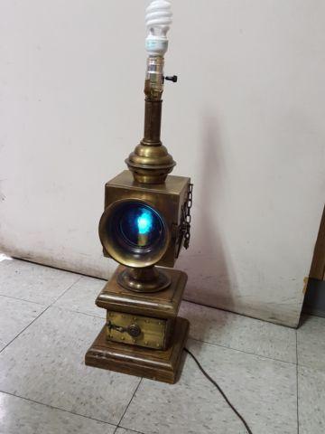 vintage nautical theme table lamp for sale in glendale arizona. Black Bedroom Furniture Sets. Home Design Ideas