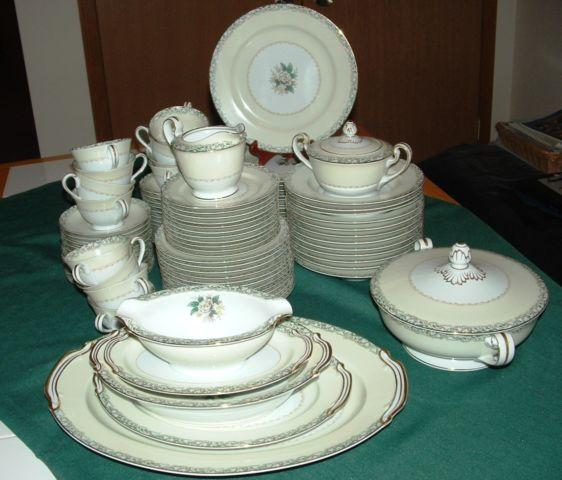 Vintage Noritake China set 89 peices-Excellent condition $550
