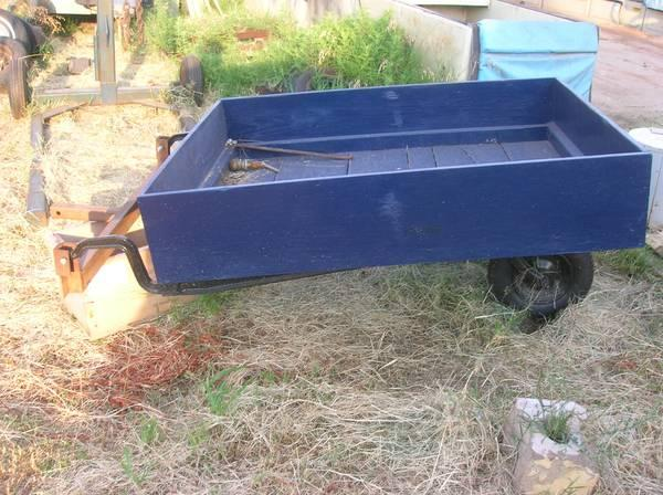 Sears Lawton Ok >> Vintage one wheel trailer - for Sale in Stillwater ...