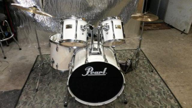 Vintage PEARL Birch Drum Kit, 1980s BLX