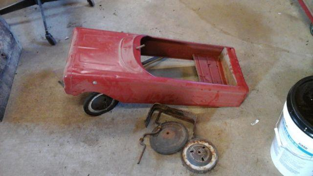 Vintage Pedal Car Parts For Sale In Edgerton, Wisconsin