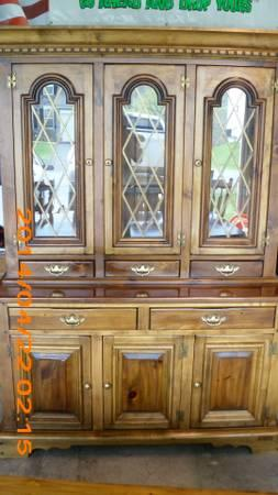 Vintage Pennsylvania House Hutch   $500