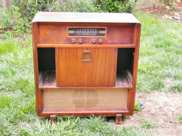 Antique Philco Console Radio Vintage Philco Radio Console