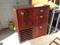 Vintage Philco TV and Record player wood cabinet - beautiful classic look