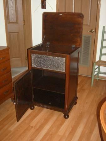 Vintage Phonograph Cabinet Recently Restored   $45