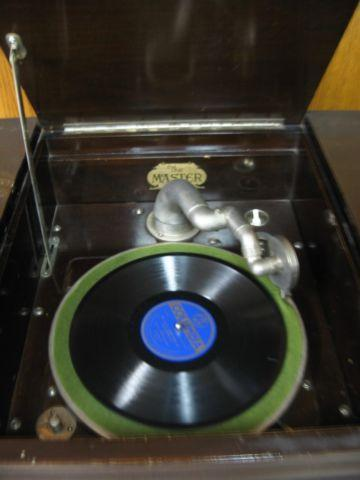 Vintage - Phonograph - with many old albums to purchase