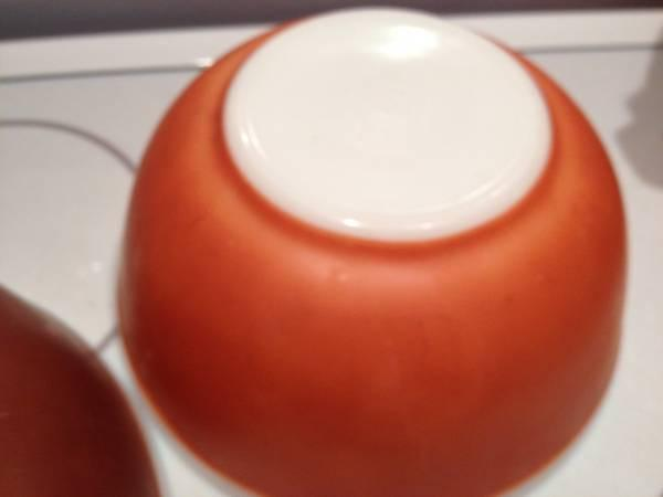 Vintage Pyrex Mixing Bowls Americana Fall Color - for Sale in ...