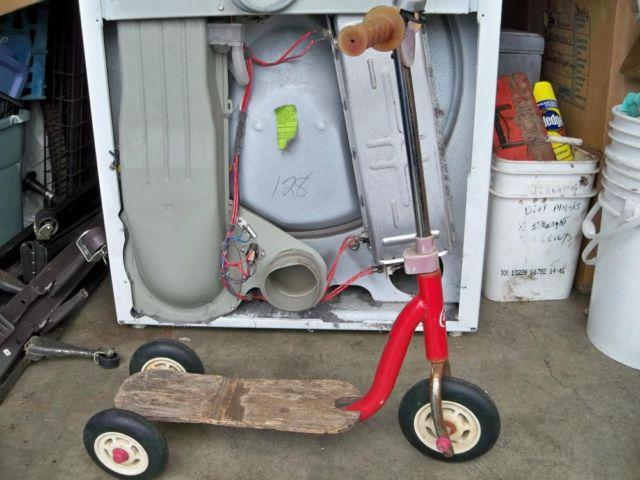 Vintage Radio Flyer Little Red Scooter