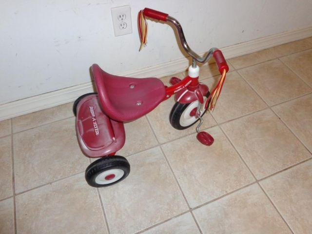 Vintage RADIO FLYER Ready To Ride Fold  Go Bike Tricycle Model 66