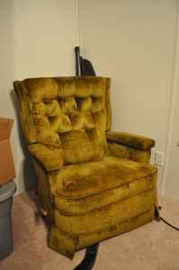 Vintage Recliner And Swivel Rocker Auburn Al For Sale