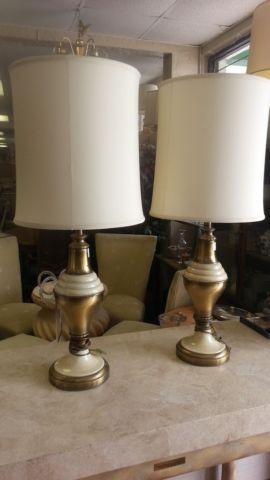 Vintage Rembrandt Table Lamp 2 Available For