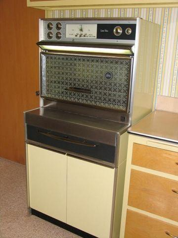 vintageretro frigidaire flair custom deluxe top oven for