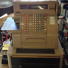 Vintage Retro NCR Class 52 Cash Register 2 Drawer Needs ...