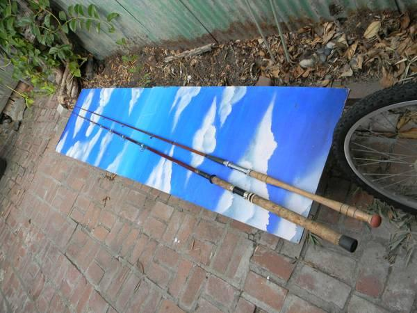 Vintage roddy 9 ft conventional fishing rod for sale in for Roddy hunter fishing rod
