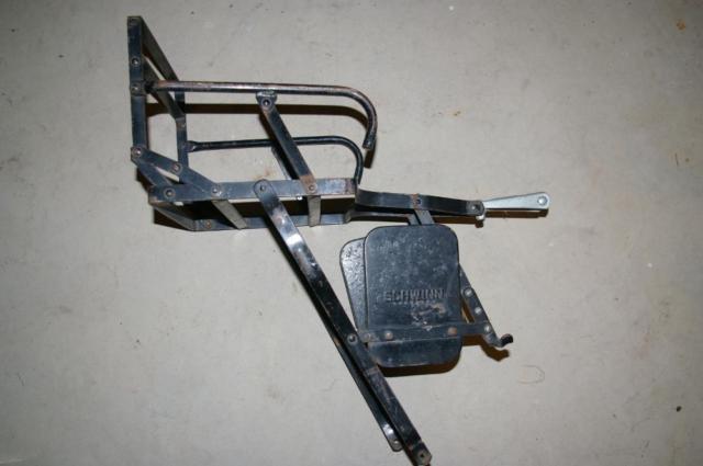 Vintage Schwinn Baby Bicycle Seat