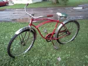 vintage schwinn heavy duti duty bicycle 1979 chicago