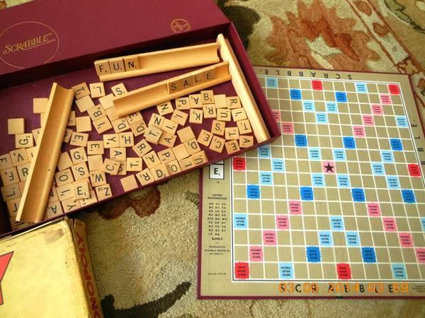 Vintage Scrabble Monopoly