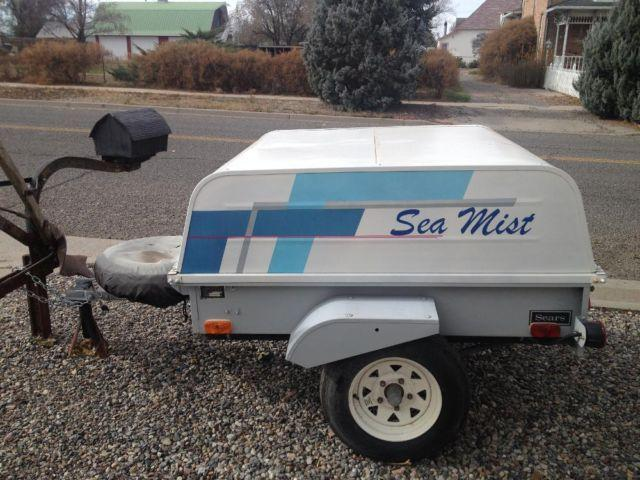 Vintage Sears Allstate Clamshell Trailer For Sale In Delta