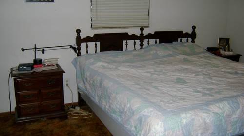 vintage sears bedroom set dark wood great quality great
