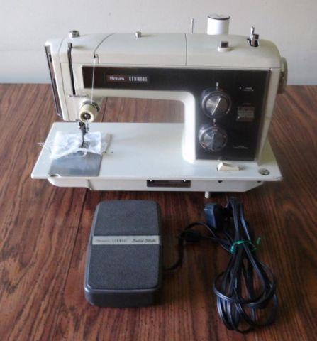 Vintage Sears Kenmore Model 1803 Zig-Zag Sewing Machine