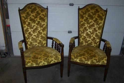 Vintage Set Victorian Chairs