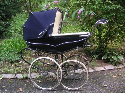 Vintage Silver Cross Baby Carriage Stunning