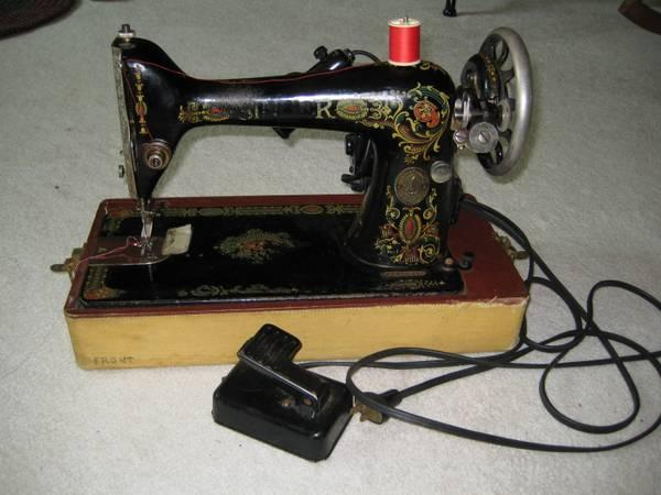 white rotary sewing machine serial number lookup