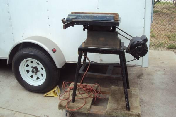 Vintage Small Craftsman Table Saw
