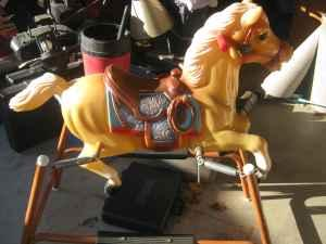 Vintage Spring Rocking Horse Brodhead For Sale In