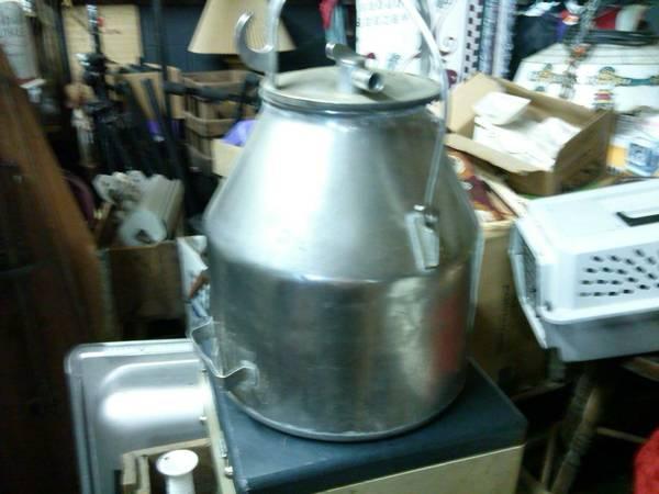 Vintage Stainless Steal Milk Can Jug - $45