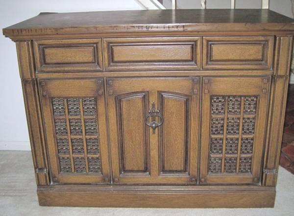 Vintage Stereo Cabinet - $40
