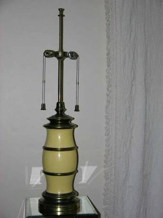 brass black metal lamps vintage size chrome lamp oriental luxury lotus era mcm lighting drum medium of table floor hollywood parzinger lgw stiffel regency flower bear