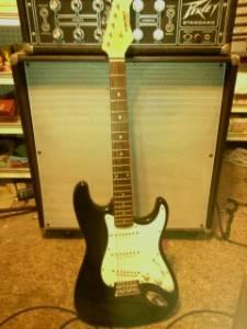 vintage synsonics pro strat electric guitar great cond fillmore for sale in ventura. Black Bedroom Furniture Sets. Home Design Ideas