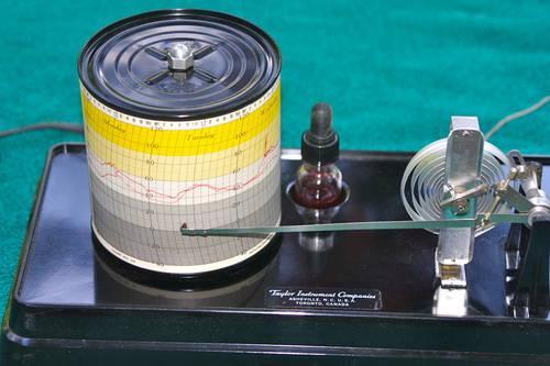 Vintage Taylor Instruments Weather Hawk Recording