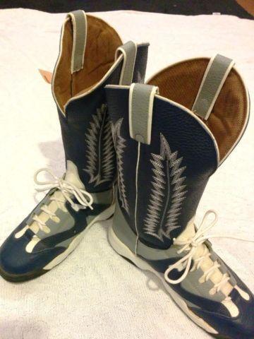 Vintage Tony Lama Teny Lama Boots Dallas Cowboys